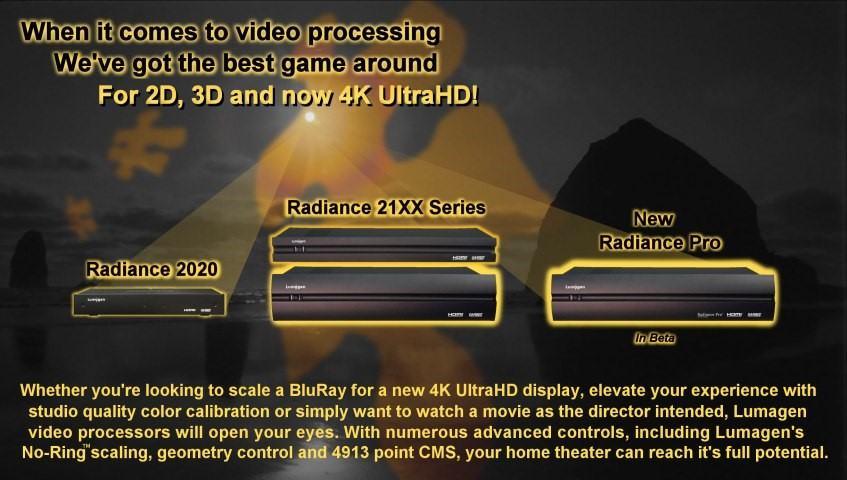 LUMAGEN RADIANCE VIDEO PROCESSORS