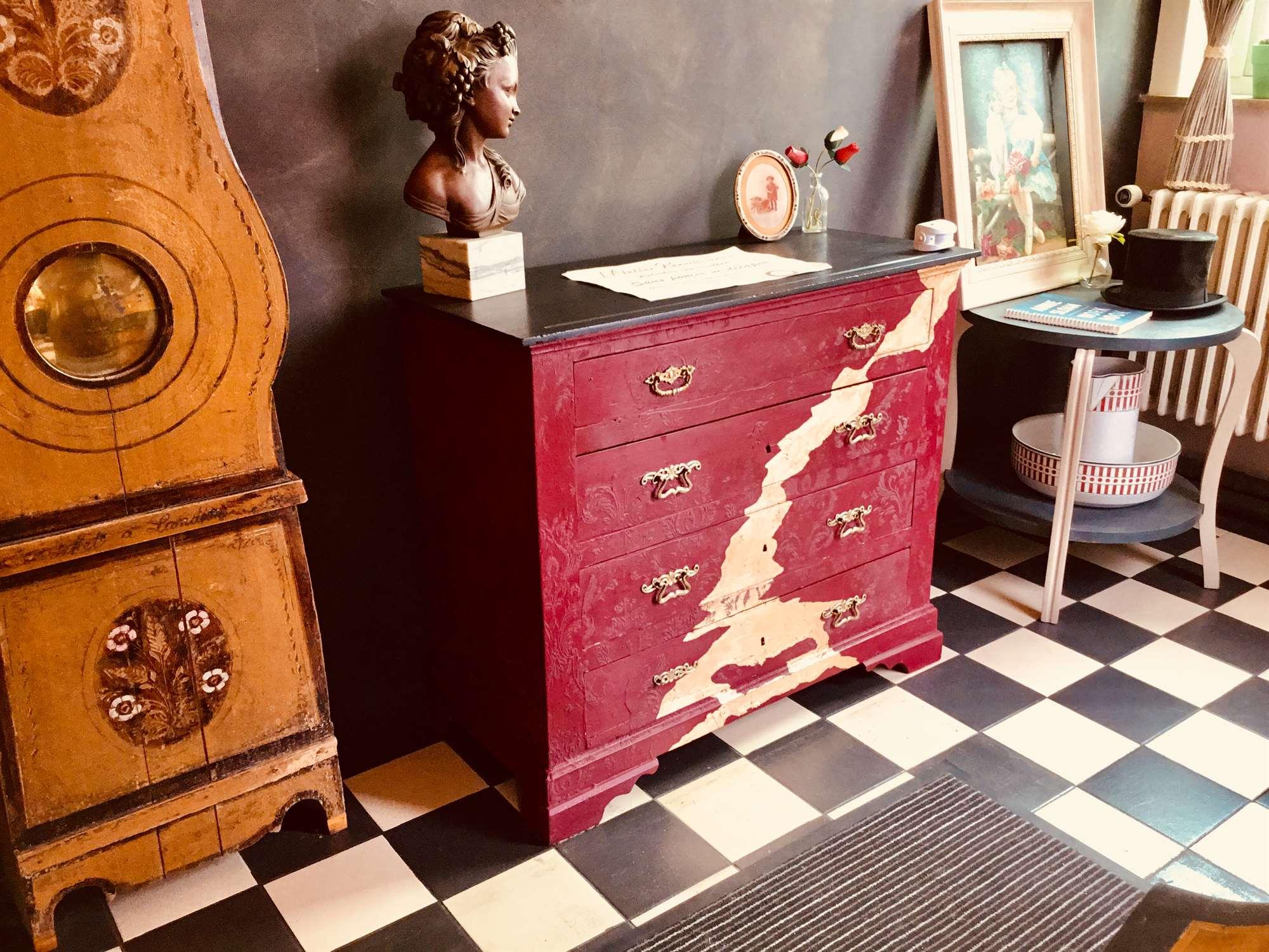 Peinture Meuble Sans Décapage relooking de meubles, chalk paints - atelier renaissance