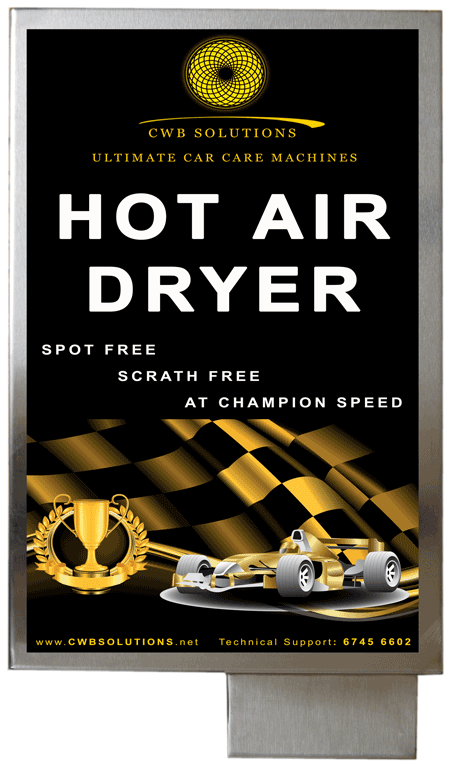 Hot Air Dryer for cars