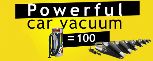 Most powerful car vacuums