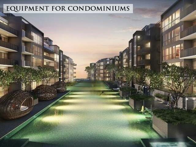 Equipment for condominiums Singapore