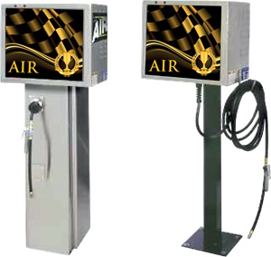 CWB air machines for petrol stations