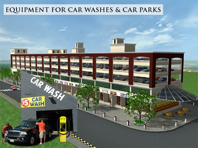 Equipment for car washes & multi storey car parks singapore