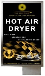 Car Turbo Towel Hot Air Dryer
