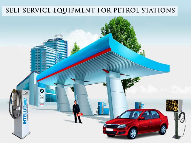 self service equipment for petrol stations singapoe