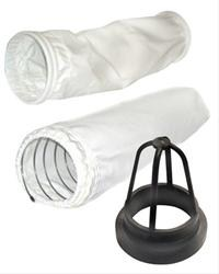 Filter bags for power vacuums